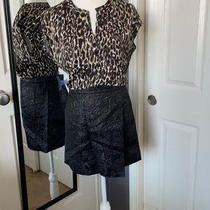 ⬇️ 2X REDUCED! J.Crew black origami skirt
